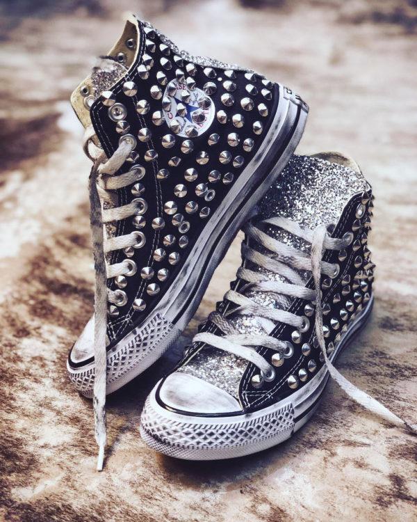converse all stars nero