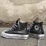 Converse Platform HIGH BLACK Glitter 2