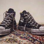 Converse Platform HIGH Borchie Black 2