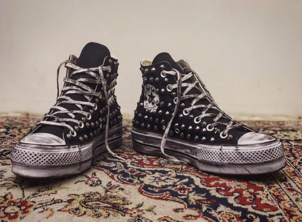 Converse Platform HIGH Borchie Black