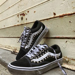 VANS Old SKOOL Black borchie