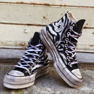 Converse PLATFORM High ANIMAL Zebra