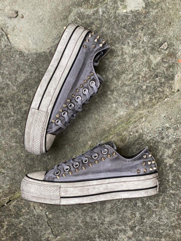 converse platform grigio