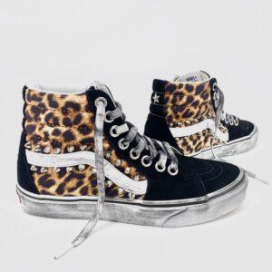 Vans SK8 HI classic leopard