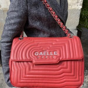 GAELLE MAXI TRACOLLA LOGO red