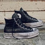 CONVERSE PLATFORM HIGH LAYER BLACK BORCHIE full