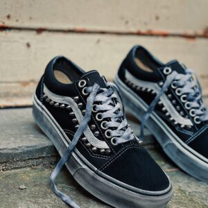 VANS OLD SKOOL PLATFORM borchie SPIKES