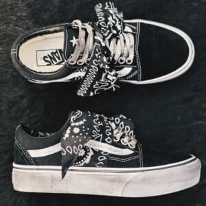 VANS OLD SKOOL PLATFORM Bandana (black)