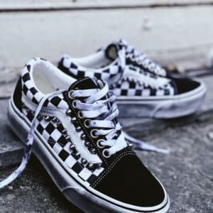 VANS OLD SKOOL PLATFORM Checks (Borchie)