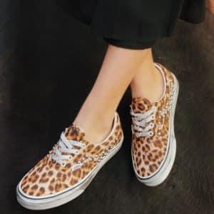 VANS ERA Leopard Borchie sferiche